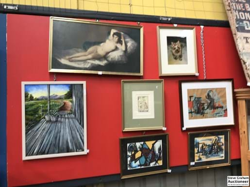 LOT 1	~	7 Prints, Paintings, Photos