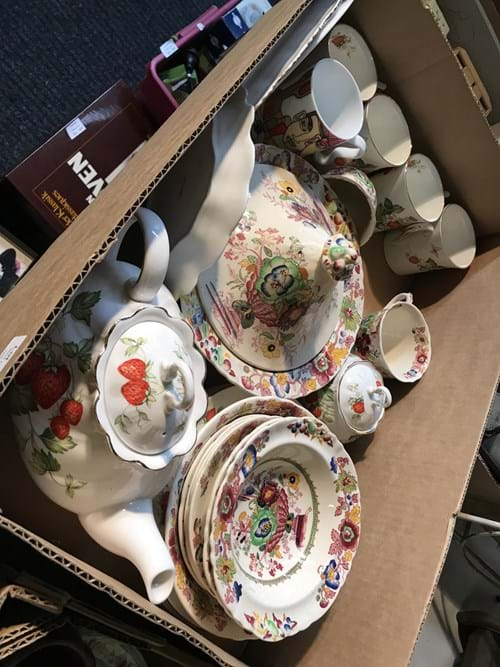 LOT 93	~	Box of China