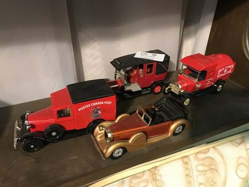 LOT 96	~	4 Matchbox Models of Yesteryear Die Cast Trucks & Cars