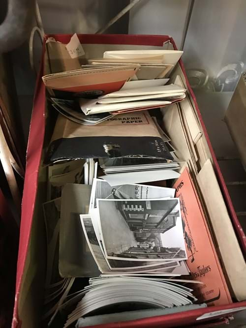 LOT 105	~	Box of Vintage Photos