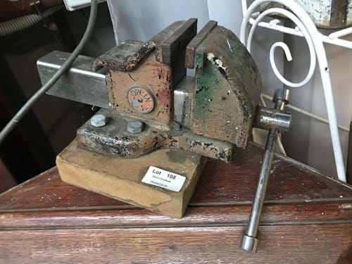 LOT 108	~	Joplin 3 Mounted Bench Vice