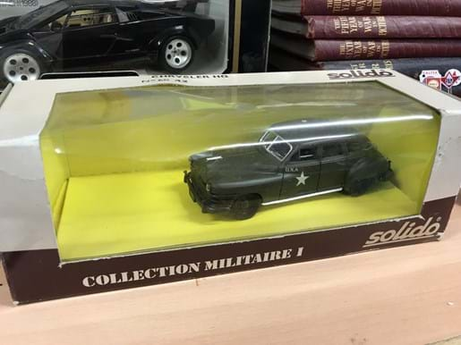 LOT 7	~	Solido US Army Chrysler HQ Car in Original Box