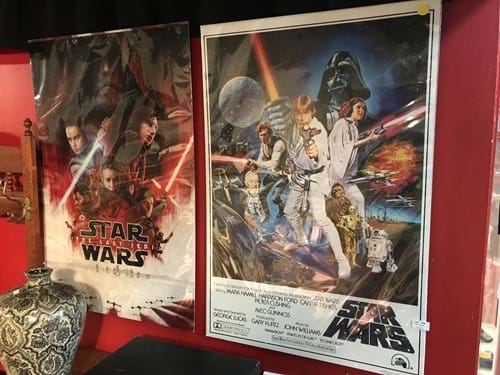 LOT 134	~	2 Star Wars Posters