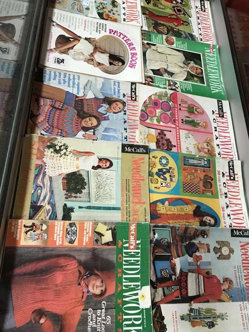 LOT 136	~	Qty Needlework Magazines