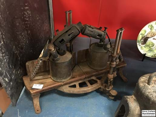 LOT 138	~	2 Blow Torches & Mitre Saw