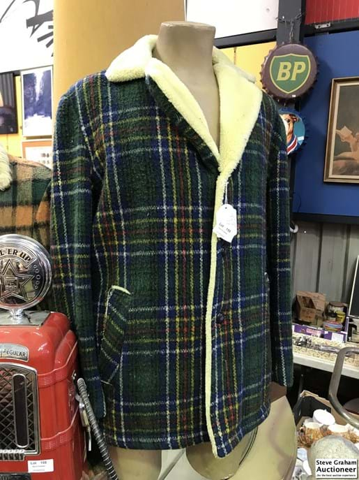 LOT 159	~	St. Charles Woolen Lumber Jacket - Made in Aus Size 36m