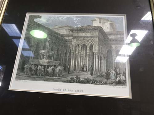 LOT 164	~	3 Steel Engravings