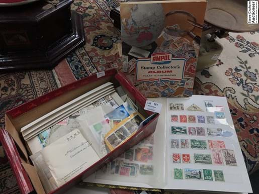 LOT 151	~	Australian & World Stamps & Albums & First Day Covers etc