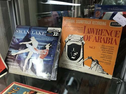LOT 173	~	10 Single LP's - Lawrence of Arabia, Swan Lake