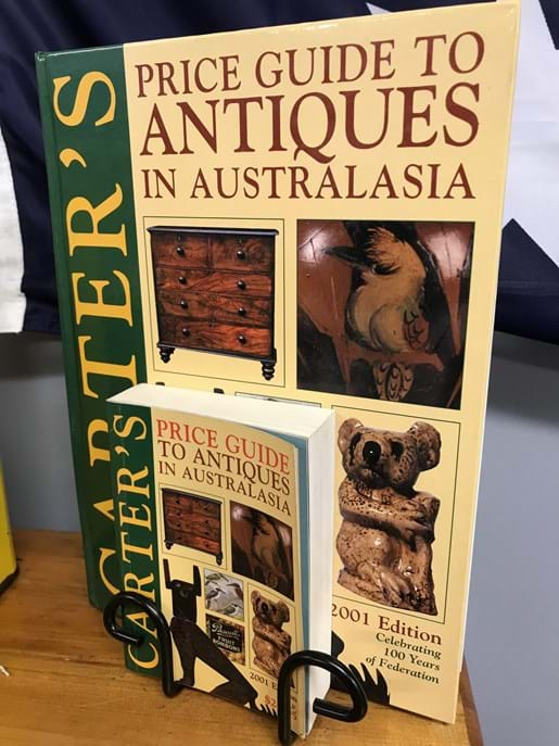 LOT 12	~	2001 Carters Antiques Price Guide & Handbook