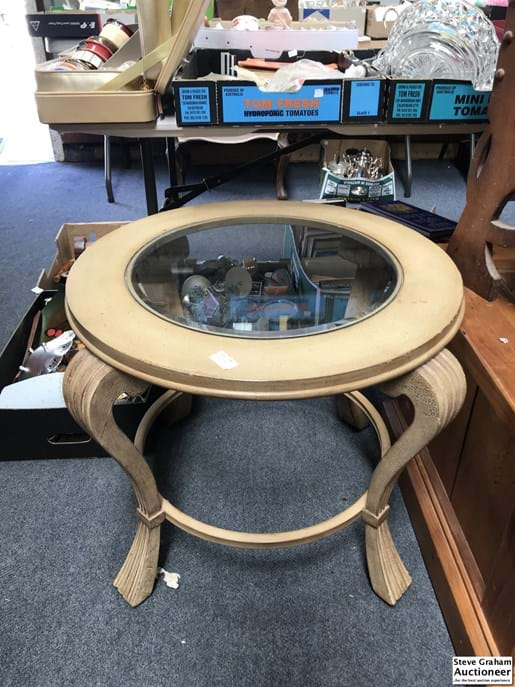 LOT 190	~	c1960's Round Coffee Table