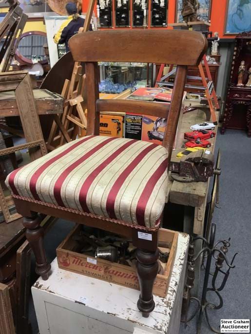 LOT 247	~	Timber Chair