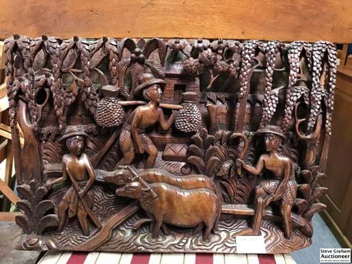 LOT 248	~	Carved Asian Storyboard