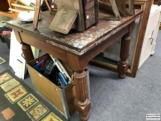 LOT 255	~	Restorers Extension Table