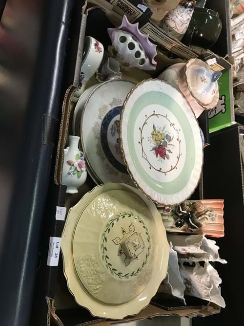 LOT 28	~	Box of China