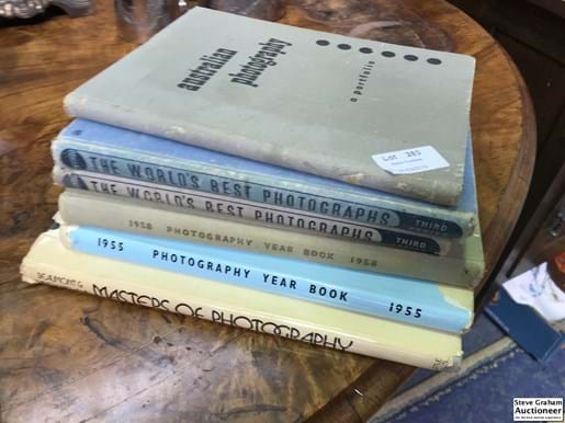 LOT 283	~	6 Photography Books