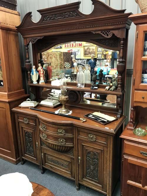 LOT 302	~	Late Victorian Mirrored Sideboard