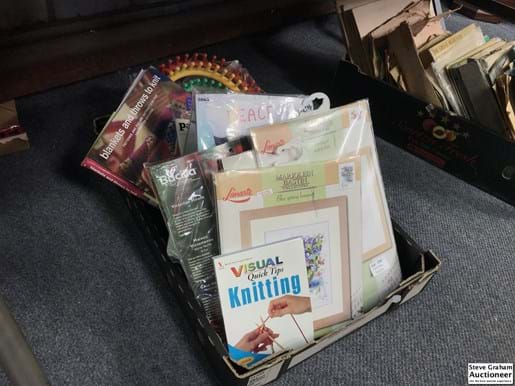 LOT 276	~	Collection of Tapestry Making Kits etc