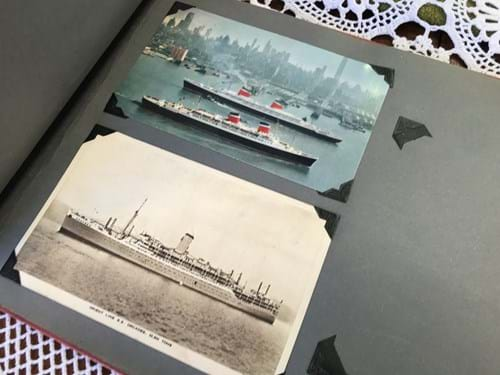 LOT 315	~	Album of Old Photographs inc Military