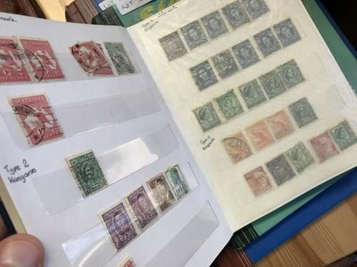 LOT 326	~	3 Albums of Australian Stamps