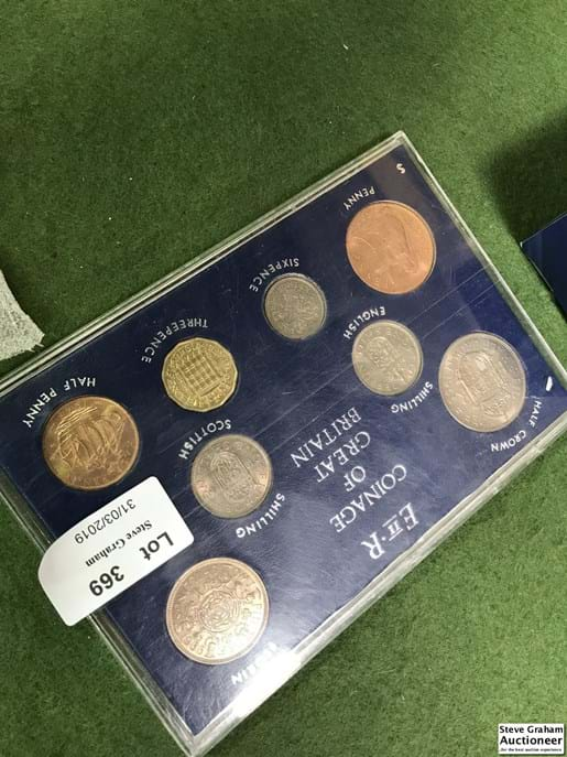 LOT 369	~	The Coinage of Great Britain 1966