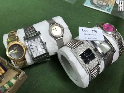 LOT 376	~	6 Watches