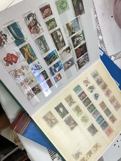 LOT 337	~	2 Albums of Australian & International Stamps, Stamp Sets