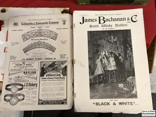 LOT 317	~	The Illustrated London News - Coronation Record Number -  with 24 Coloured Plates