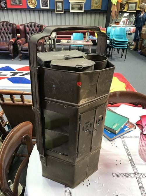 LOT 341	~	Brass Food Warmer