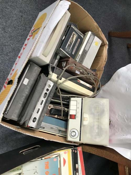 LOT 344	~	Box of Radios