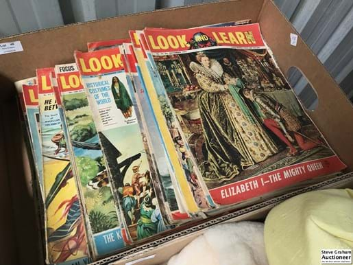 LOT 46	~	Collection of Look & Learn Magazines