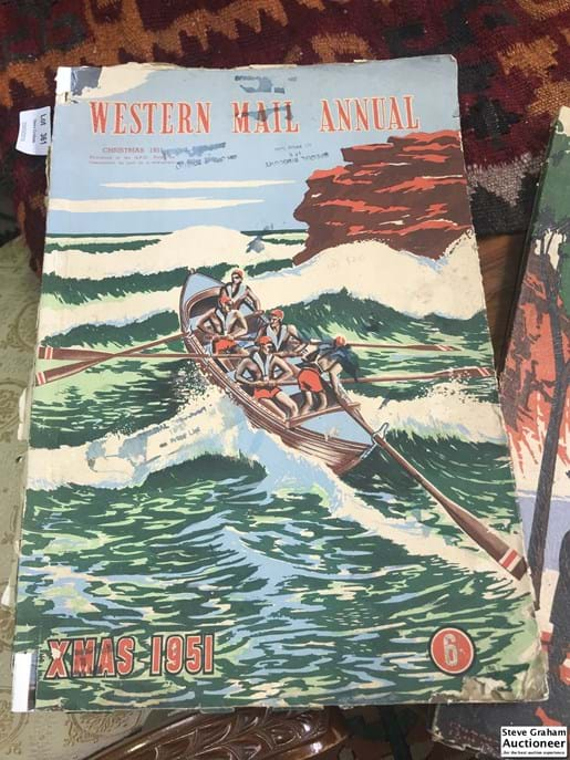 LOT 356	~	The Western Mail Annuals 1948 & 1951