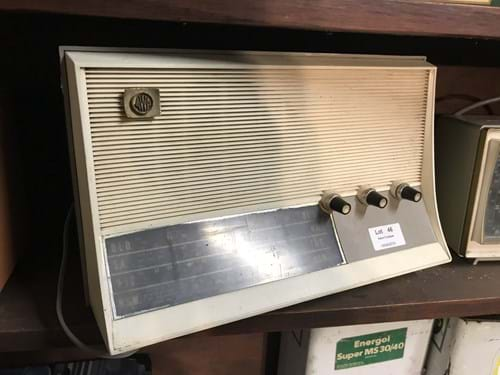 LOT 46	~	3 Mantle Radios