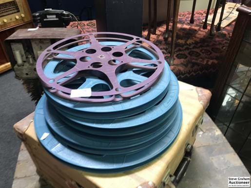 LOT 376	~	Oty Movie Projector Reels