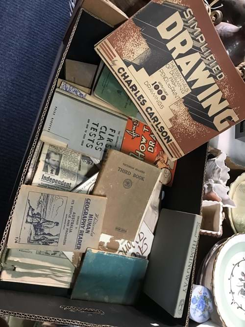 LOT 6	~	Box of Interesting Ephemera