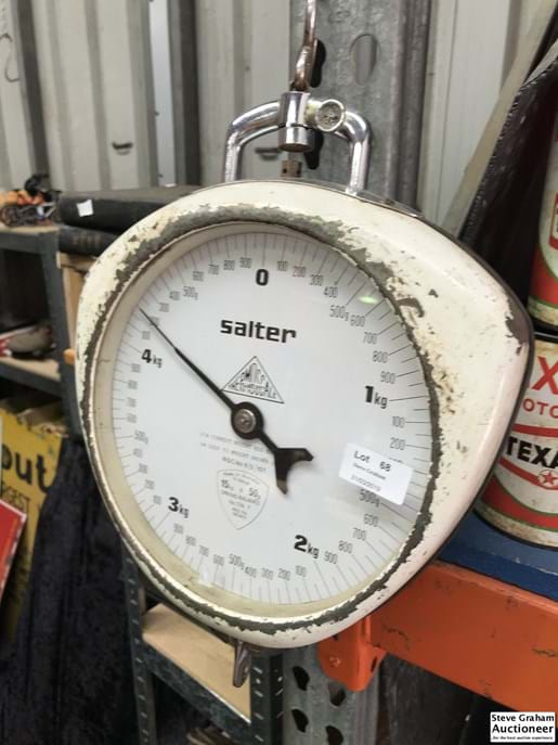 LOT 68	~	Salter 5kg Shop Scales - no tray