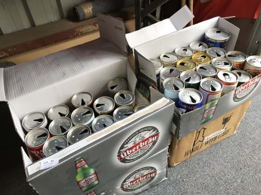 LOT 82	~	Collection of Beer Cans (93)