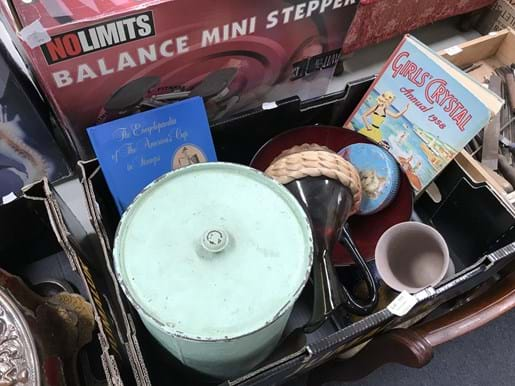 LOT 111	~	Box of Groovy Old Wares