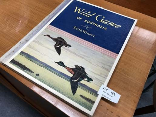 LOT 162	~	'Wild Game of Australia' by Keith Winser with Coloured Plates