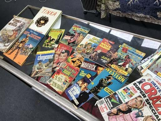 LOT 300	~	1970's MAD Magazines, Footrot Flats etc