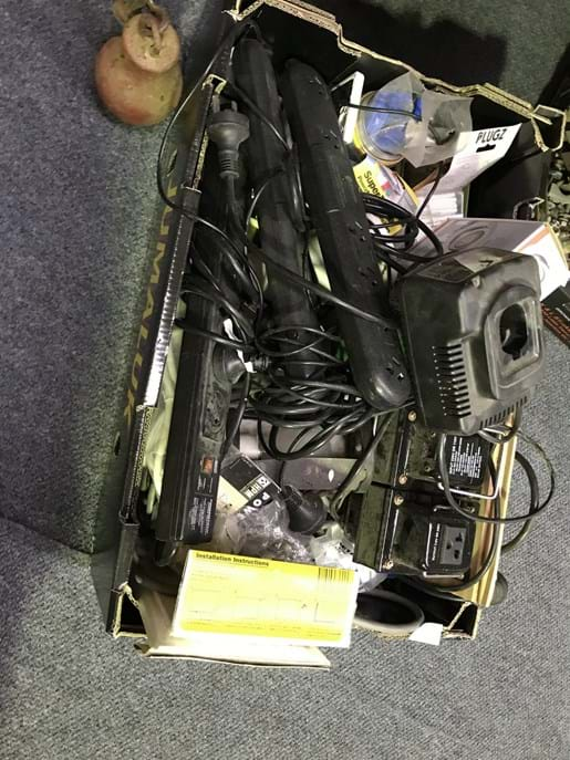 LOT 316	~	Box of Electrical