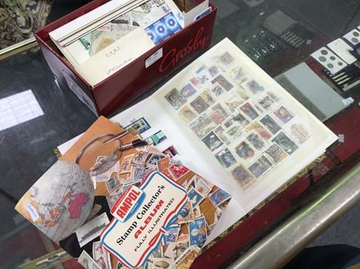 LOT 340	~	Australian & World Stamps & Albums & First Day Covers etc