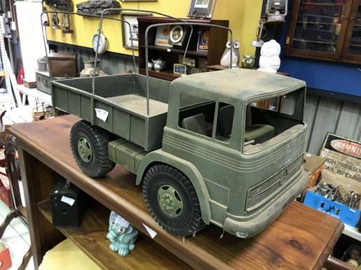 LOT 344	~	Prima Toys Plastic Mercedes Benz Military Truck